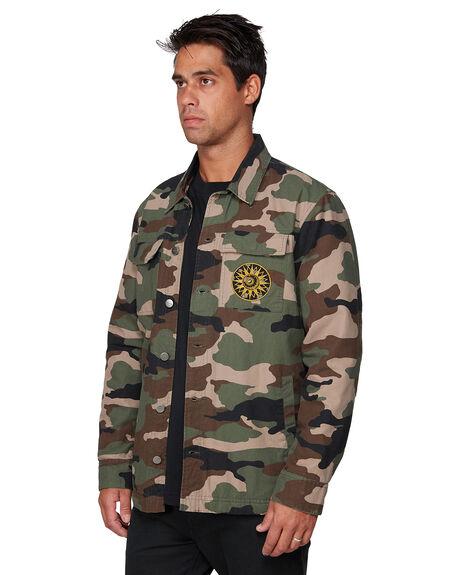 MULTI MENS CLOTHING RVCA JACKETS - RV-R383435-CMO