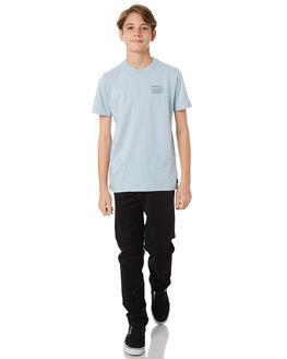 LT BLUE KIDS BOYS SWELL TEES - S3164001LTBLU