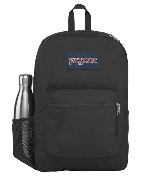 BLACK MENS ACCESSORIES JANSPORT BAGS + BACKPACKS - JS0A47LWJS008