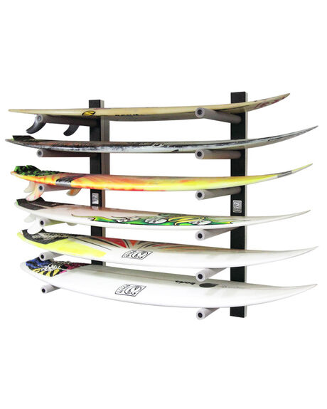 BLACK WHITE SURF ACCESSORIES SOLID RACKS BOARD RACKS - SR-938W