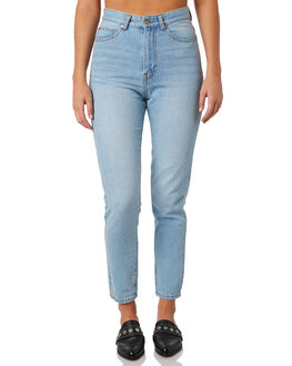 LIGHT INDIGO WASH WOMENS CLOTHING DR DENIM JEANS - 1430113-G74