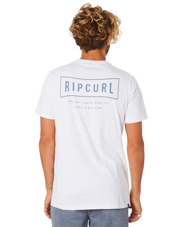 WHITE MENS CLOTHING RIP CURL TEES - CTEJF91000