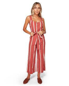 REDROCK WOMENS CLOTHING BILLABONG PLAYSUITS + OVERALLS - BB-6592504-ROK
