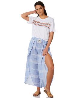 BLUE STRIPE WOMENS CLOTHING ELWOOD PANTS - W84602BLUST