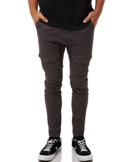 CHARCOAL MENS CLOTHING NENA AND PASADENA PANTS - NPMFP001CHAR