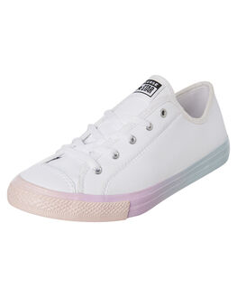 WHITE WOMENS FOOTWEAR CONVERSE SNEAKERS - 566228CWHT