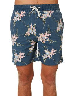 NAVY MENS CLOTHING INSIGHT BOARDSHORTS - 1000061576NVY