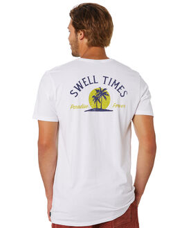WHITE MENS CLOTHING SWELL TEES - S5202010WHITE