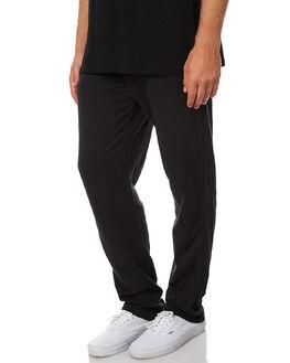 BLACK MENS CLOTHING BONDS PANTS - AYHNIBAC