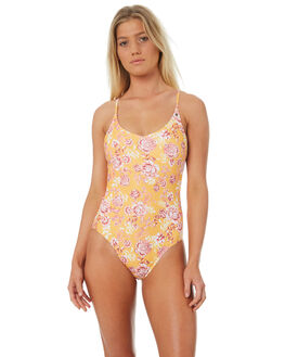 SUMMER FLORAL WOMENS SWIMWEAR ALL ABOUT EVE ONE PIECES - 6428061FLR