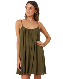 DEEP JUNGLE WOMENS CLOTHING BILLABONG DRESSES - 6582152DJG