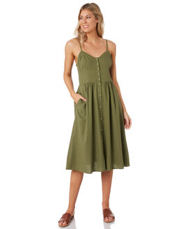 OLIVE WOMENS CLOTHING ROLLAS DRESSES - 13406309