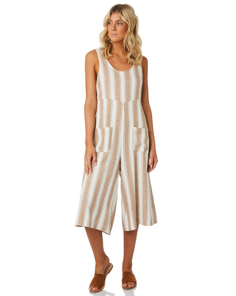 STRIPE WOMENS CLOTHING SWELL PLAYSUITS + OVERALLS - S8184459STRIP
