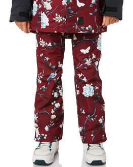 WINTER FLORAL OUTLET BOARDSPORTS ROJO OUTERWEAR - W19RWOP1664WFL