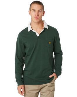 BOTTLE GREEN MENS CLOTHING DEPACTUS SHIRTS - D5194140BTLGN