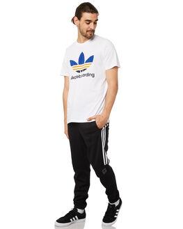 BLACK WHITE MENS CLOTHING ADIDAS PANTS - DH3882BLK