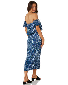 PEBBLES NAVY WOMENS CLOTHING RUE STIIC DRESSES - RWS-19-24-1PBLNV