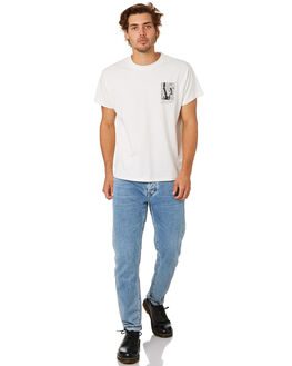 VINTAGE WHITE MENS CLOTHING NEUW TEES - 335896