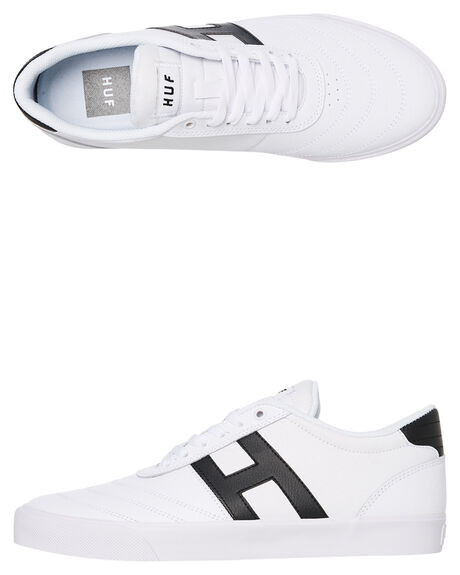 WHITE MENS FOOTWEAR HUF SNEAKERS - VC00078-WHITE