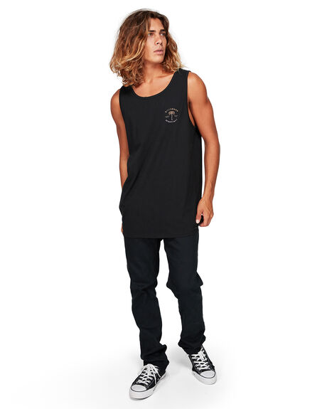 BLACK MENS CLOTHING BILLABONG SINGLETS - BB-9592507-BLK