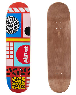 RED BOARDSPORTS SKATE ALMOST DECKS - 100231136RED