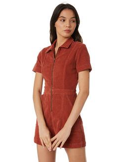 RUST WOMENS CLOTHING INSIGHT PLAYSUITS + OVERALLS - 1000086030RUST