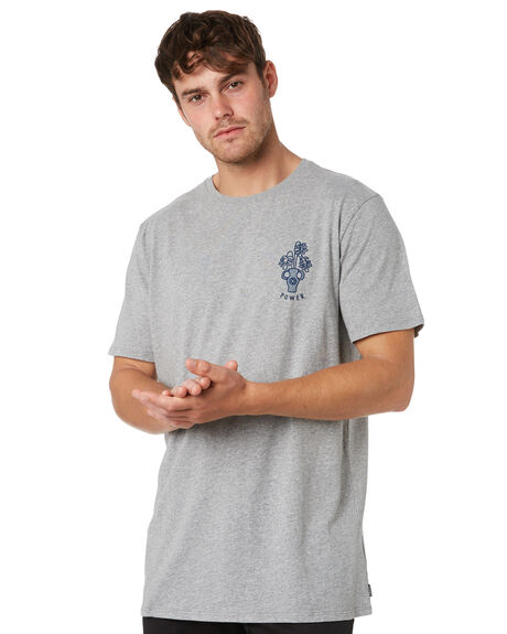 GREY MARLE OUTLET MENS SWELL TEES - S52011018GRYMA