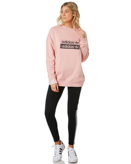 PINK SPIRIT WOMENS CLOTHING ADIDAS JUMPERS - EC0746PNK