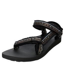 MARESSA BLACK MULTI WOMENS FOOTWEAR TEVA FASHION SANDALS - T1106329MBKM