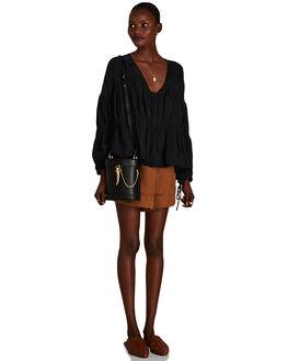 BLACK WOMENS ACCESSORIES SANCIA BAGS + BACKPACKS - 151B-BLBLK