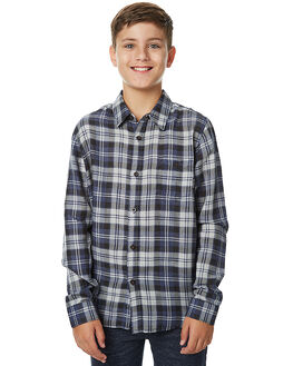 SILVER HEATHER KIDS BOYS BILLABONG SHIRTS - 8575229SIL