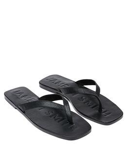 BLACK CROC WOMENS FOOTWEAR JAMES SMITH THONGS - 12782543BCROC