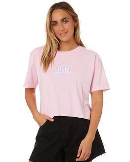 NOTE PINK WOMENS CLOTHING RUSTY TEES - TTL1006NPK