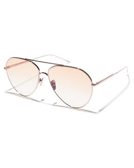 BLUSH WOMENS ACCESSORIES SUNDAY SOMEWHERE SUNGLASSES - SUN169-BLU-SUNBLSH