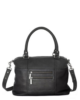 BLACK WOMENS ACCESSORIES STATUS ANXIETY HANDBAGS - SA7011BLK