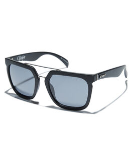 MATT BLACK WOMENS ACCESSORIES CARVE SUNGLASSES - 1881MTBLK