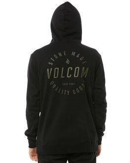 BLACK COMBO MENS CLOTHING VOLCOM JUMPERS - A4111801BLC