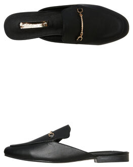 BLACK WOMENS FOOTWEAR BILLINI FLATS - F424BLK