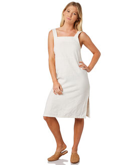WHITE WOMENS CLOTHING RUSTY DRESSES - DRL0929WHT