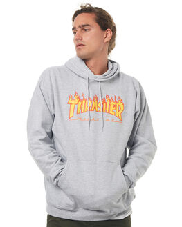 GREY MENS CLOTHING THRASHER JUMPERS - 20365073GREY