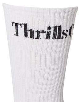 BLACK WHITE MENS CLOTHING THRILLS SOCKS + UNDERWEAR - TR8-1001BBLKWH