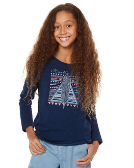 NAVY KIDS GIRLS EVES SISTER TEES - 9990003NVY1