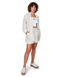LINEN WOMENS CLOTHING RVCA JACKETS - RV-R292184-L10