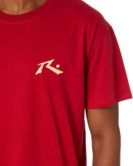 PERSIAN RED MENS CLOTHING RUSTY TEES - TTM1612PSR