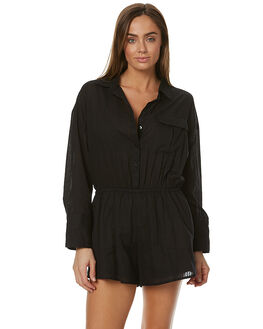 BLACK WOMENS CLOTHING THE FIFTH LABEL PLAYSUITS + OVERALLS - TP170520PSBLK
