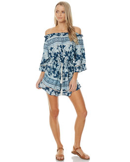 CHELSEA FLORAL WOMENS CLOTHING O'NEILL PLAYSUITS + OVERALLS - 4022005CHFL
