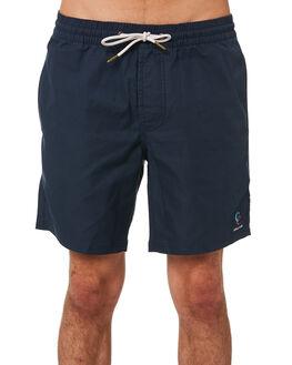 NAVY MENS CLOTHING BARNEY COOLS BOARDSHORTS - 805-CR3NVY