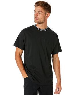 BLACK MENS CLOTHING AFENDS TEES - M183100BLK
