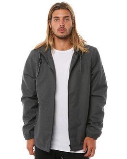 FLINT BLACK MENS CLOTHING ELEMENT JACKETS - 176456FBLK