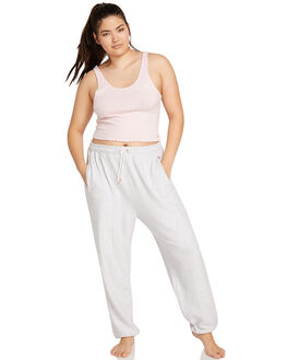 LIGHT GREY WOMENS CLOTHING VOLCOM PANTS - CB1111801LGR